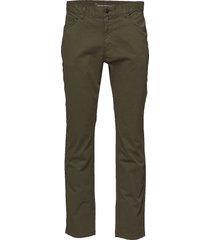 5-pocket stretched jeans - gots casual byxor vardsgsbyxor grön knowledge cotton apparel