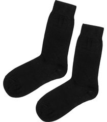 calzedonia - short socks with cashmere, 46-47, black, men