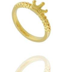 anel dona diva semi joias falange coroa