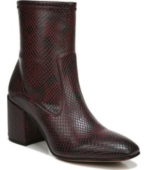 franco sarto tala booties women's shoes