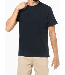 camiseta mg curta básica algodão pima - azul marinho - p