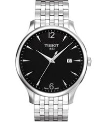 tissot tradition bracelet watch, 42mm