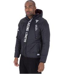 jaqueta com capuz fatal swag 18269 - masculina - preto