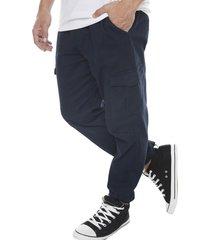 pantalon jogger cargo navy corona