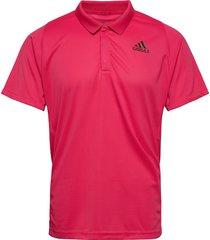 freelift tennis polo shirt heat.rdy polos short-sleeved rosa adidas performance