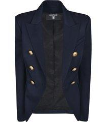 balmain classic buttoned blazer