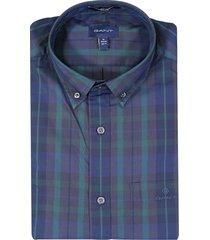overhemd ruit regular fit