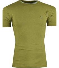 camisa rutra tshirt  bãsica mc lisa verde - verde - masculino - algodã£o - dafiti