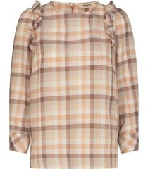 gurit check blouse