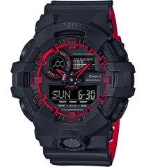 reloj g shock ga_700se_1a4 negro resina