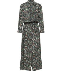 radial kaleido dress maxiklänning festklänning svart zadig & voltaire