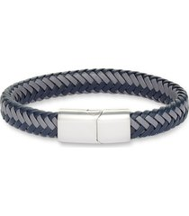 men's nordstrom men's woven leather bracelet