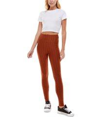 ultra flirt juniors' high-waist phone-pocket leggings