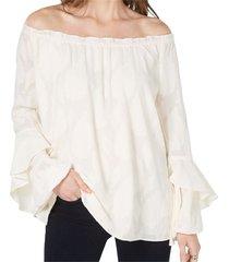 blouse bell sleeve