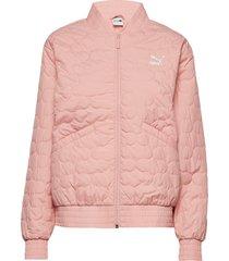 bomber jacket outerwear sport jackets rosa puma