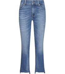7 for all mankind ankle boot slim cropped jeans