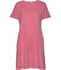 dresses knitted kort klänning rosa edc by esprit