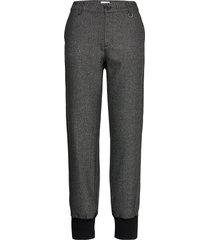 pzmelissa pant casual broek grijs pulz jeans