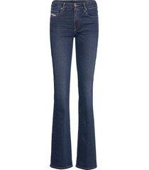 d-slandy-b jeans wijde pijpen blauw diesel women