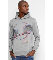 moletom puma red bull racing double bull masculina