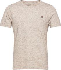 i logo softwash organic tee t-shirts short-sleeved beige banana republic