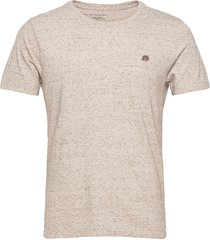 i logo softwash organic tee t-shirts short-sleeved beige banana republic