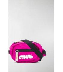 heron preston ctnmb mini belt pack