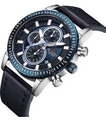 reloj armiforce 8003 cronografo - azul