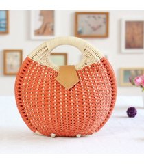 handbag summer beach bags small bag woman straw bags womens handbag rattan bag b