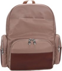 """mcklein cumberland, 17"""" dual compartment laptop backpack"""