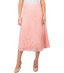 ny collection petite lace a-line skirt