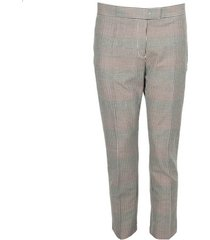 chino broek ps by paul smith pantalons femme coupe droite