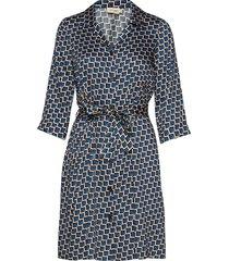 doria korte jurk blauw jumperfabriken