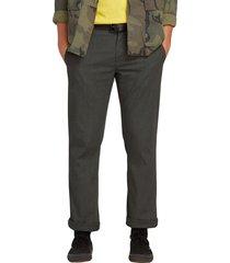men's volcom frickin modern stretch chino pants, size 38 - grey