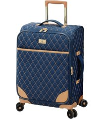 "london fog queensbury 20"" expandable carry-on spinner"