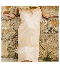 cotton skirt, 'naturally modern' (guatemala)