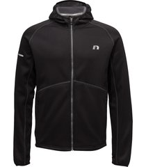 base warm up jacket hoodie svart newline