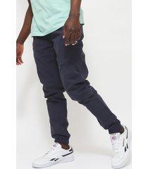 pantalón reebok cl f fr trackpant azul - calce regular