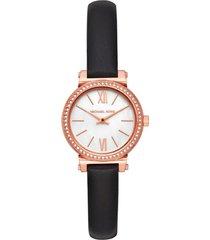 reloj fashion negro michael kors