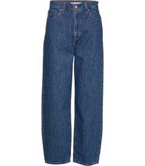 balloon leg air head raka jeans blå levi´s women