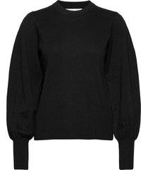 sammyiw pullover gebreide trui zwart inwear