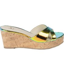 sandalia tahiti multicolor we love shoes