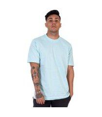 camiseta lucas lunny t shirt gola redonda azul claro