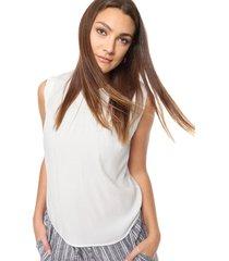 blusa natural asterisco escala