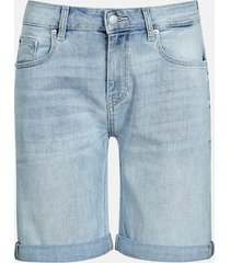 girlfriend shorts - ljusblå