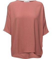 mains tee 5687 blouses short-sleeved orange samsøe samsøe
