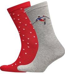 o1. après ski socks gift box lingerie hosiery socks multi/mönstrad gant