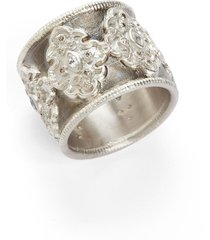 women's armenta new world scroll diamond band ring