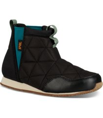teva kids ember moc mid booties women's shoes