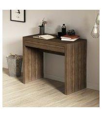 mesa para escritório tecno mobili me4107 1 gaveta